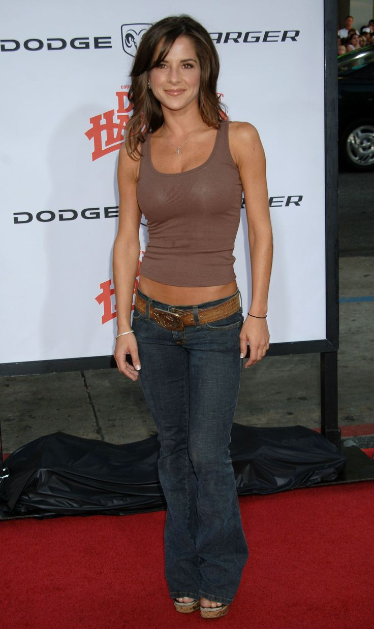 kelly monaco - jeans, wedges, and plain tank