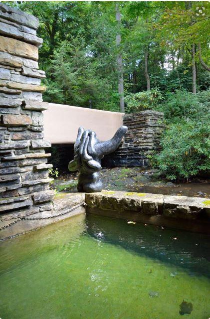 """""""Falling Water"""" Wading pond"""