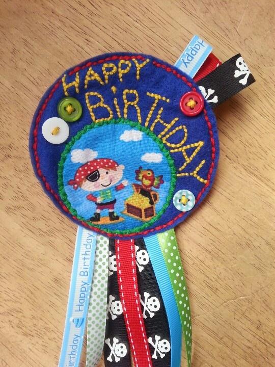 For a birthday boy!