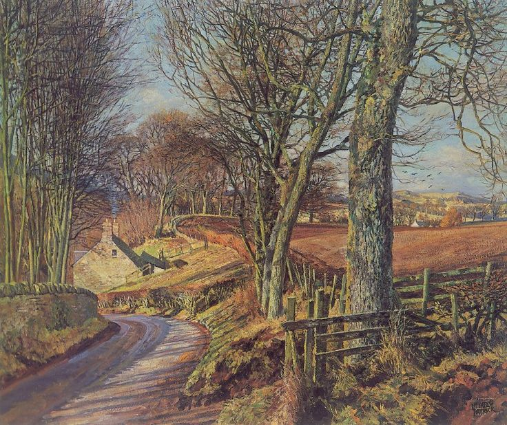 James McIntosh Patrick Knapp Rd, Rossie Priory Signed Limited Edition Print | Scottish Contemporary Art