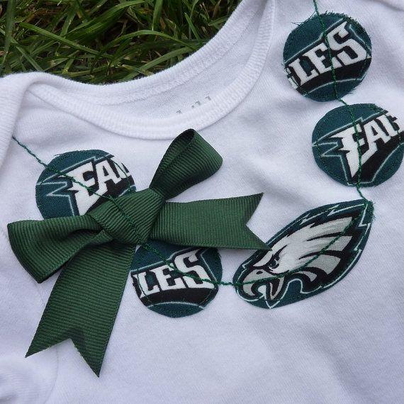 Philadelphia Eagles Football Necklace Onesie Definitely