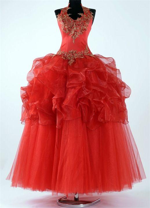 красные свадебные платья - Поиск в Google