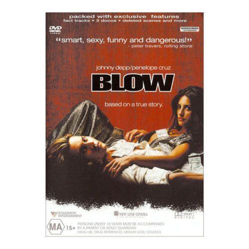 Blow-DVD-Brand-New-Region-4-Aust-Johnny-Depp