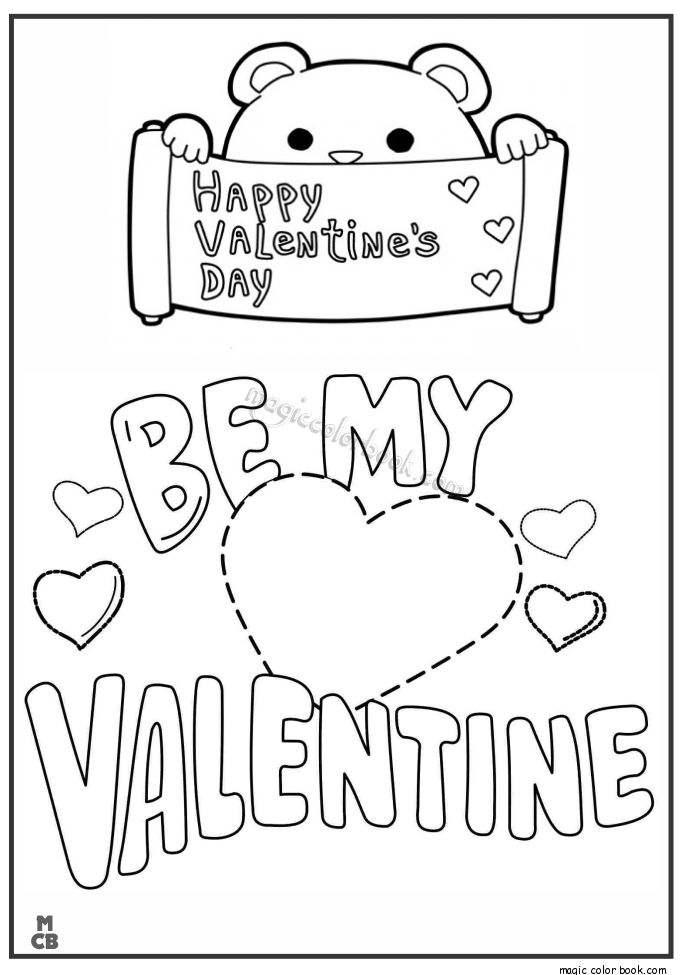 valentines day archives page 2 of 2 magic color book - Valentines Day Coloring Sheet 2