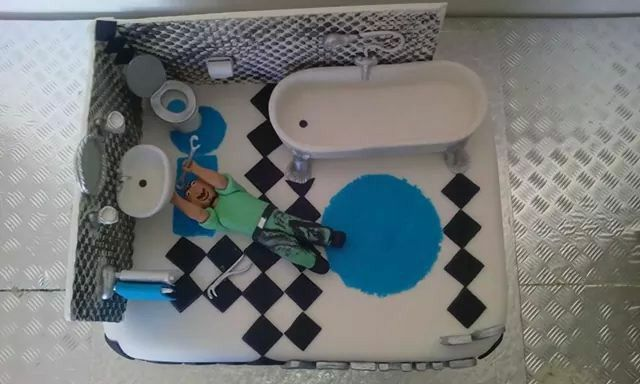 17 Best Images About Plumber Cake On Pinterest Birthday