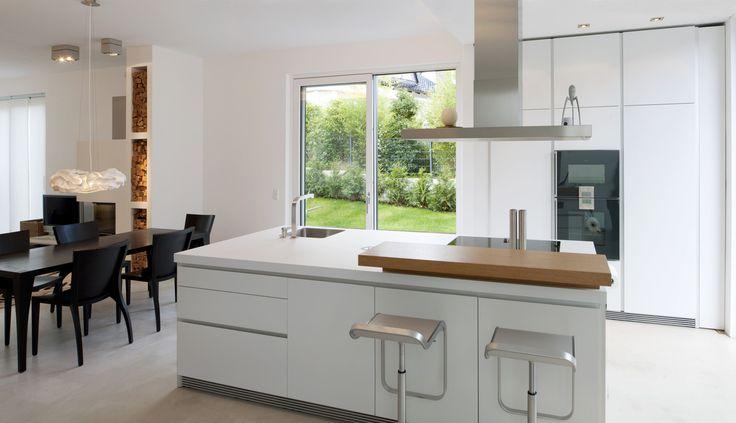 modernes einfamilienhaus in essen  moderne küchen von