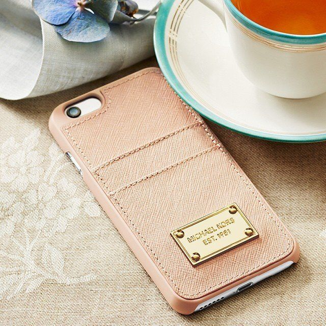 timeless design cb1cf 85061 Card Holder Phone Case by MICHAEL Michael Kors | Products I Love ...