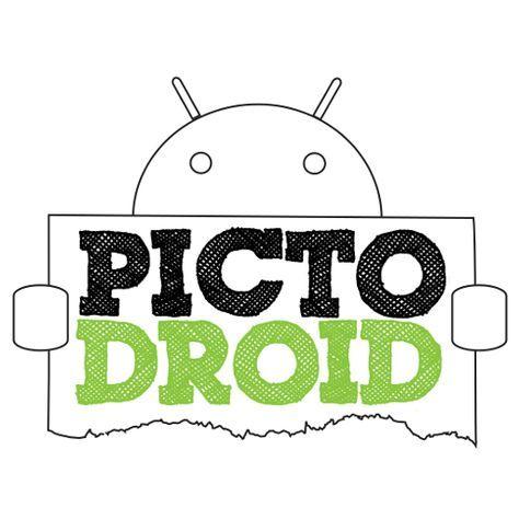 PictoDroid es una aplicación para dispositivos Android que permite a los usuarios comunicarse a través del uso de pictogramas o pictos (signos que representan esquemáticamente un símbolo, objeto real o figura). Esta versión permite expresar diferentes acciones y crear oraciones complejas.