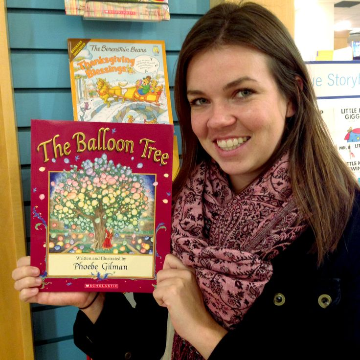 Kate from HarperClassroom is thankful for The Balloon Tree by Phoebe Gilman because it was the first book that opened her imagination to new worlds and made her want be a part of the story. #ThankYouKidsLit