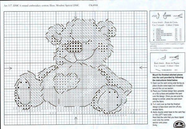 Patrones de punto cruz gratis para imprimir - Imagui   punto cruz ...