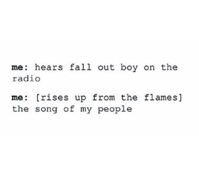 This actually happened today. i heard it in a restaurant. i was like OH MY LORD