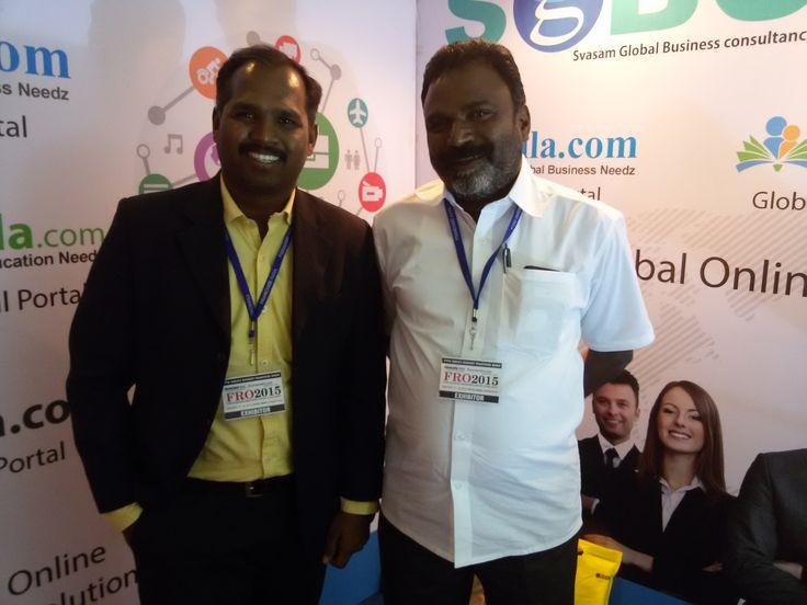 #SGBCIndia In #FRO2015 Read more<>http://www.bizbilla.com/pressrelease/SGBC-India-In-FRO-2015-232.html