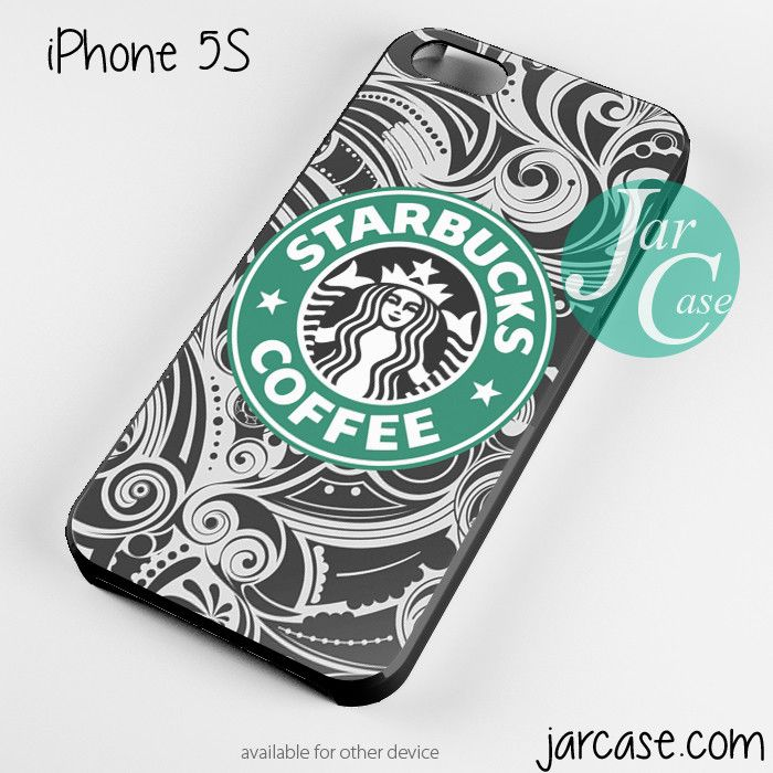 Starbucks Floral Cup Phone case for iPhone 4/4s/5/5c/5s/6/6 plus