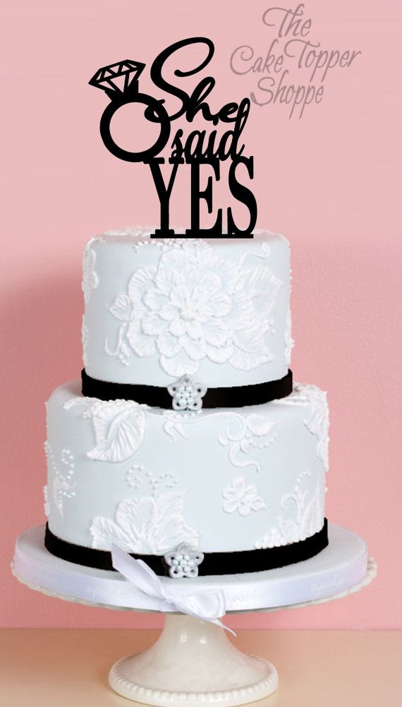 25+ best ideas about Engagement cake toppers on Pinterest ...