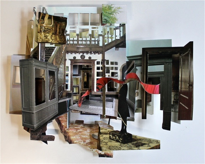 Barbara Polderman, 3d collage
