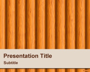 Wood PowerPoint Background template