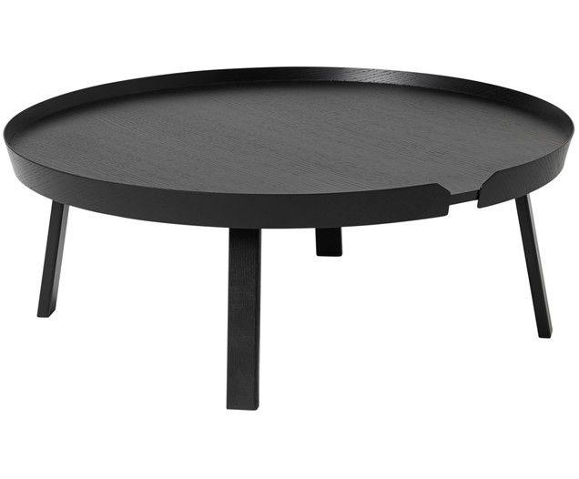 Couchtisch Around Extra Large | Wohnzimmer > Tische > Couchtische | Schwarz | Holz | Muuto