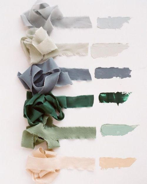 """lifeasawaterelement: """"  tono & co. A color story featuring (from top to bottom) SKY 