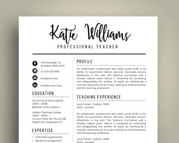 Instant download teacher modern professional resume template pack for MS PowerPoint (.pptx) This is an easy to edit 3 in 1 resume template for MS PowerPoint, It comes as a .pptx file. **Product Feature** - Created purely with MS PowerPoint - All parts are editable with MS PowerPoint program **You Get** - One file of resume template pack (.pptx) [resume, cover