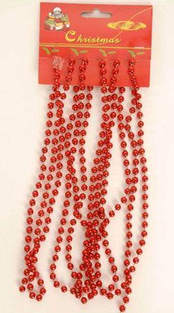 Kerstboom decoratie ketting rood. Mooie rode ketting voor in de kerstboom. Deze…