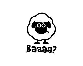 cute little sheep #logo
