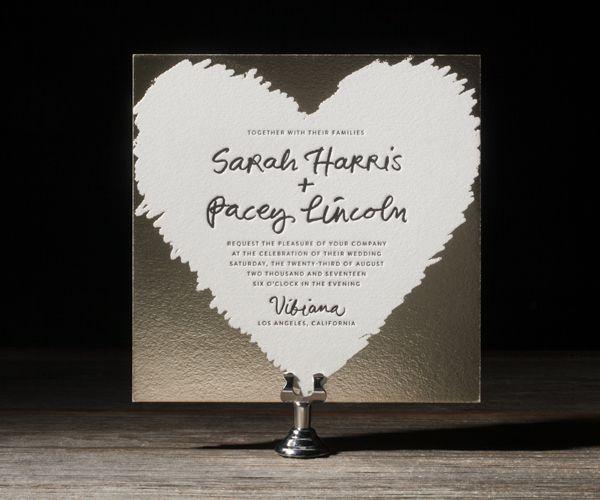 Classy Timeless Wedding Invitation Designs - cute!