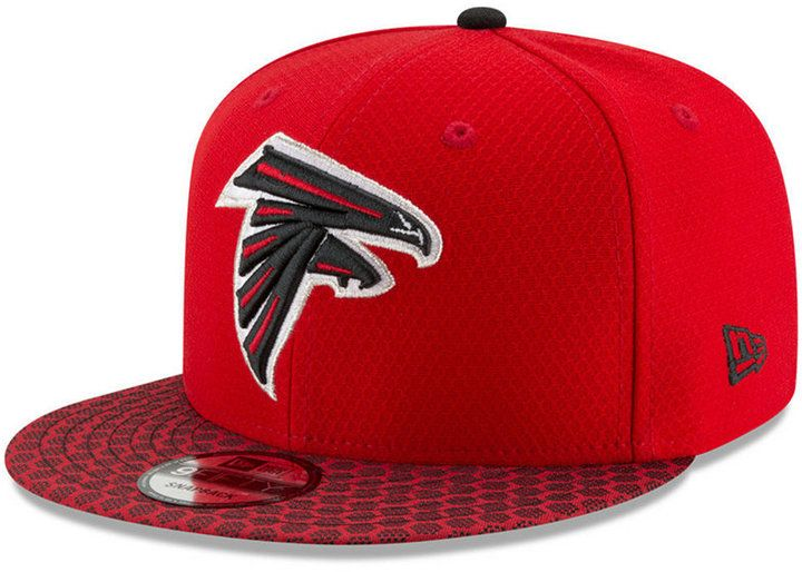 New Era Boys' Atlanta Falcons 2017 Official Sideline 9FIFTY Snapback Cap
