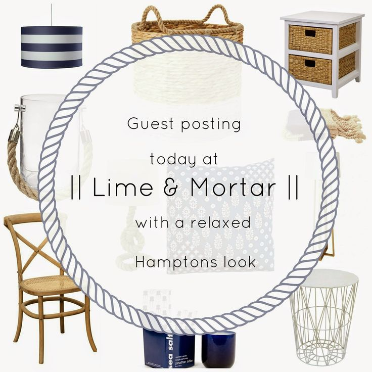 Guest Post: A Relaxed Hamptons Look