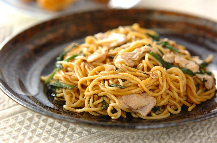 香港焼きそばのレシピ・作り方 - 簡単プロの料理レシピ | E・レシピ