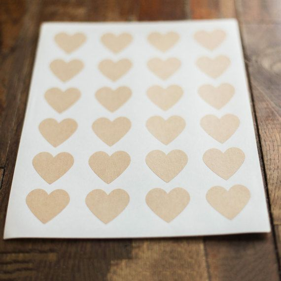 Hey, I found this really awesome Etsy listing at https://www.etsy.com/listing/496138746/kraft-heart-labels-15-in-x-15-in-set-of