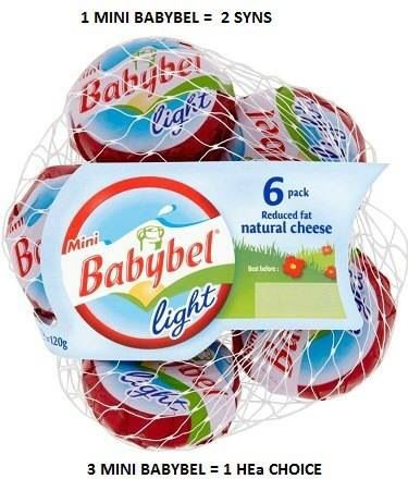 Babybel light syns slimming world syns pinterest lights for Slimming world offers