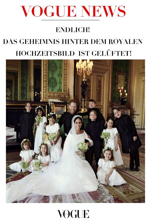 Das Geheimnis Ist Geluftet Darum Hielten Die Blumenkinder Auf Dem Royalen Hochzeitsfoto So Still Hochzeit Bilder Prinz Harry Hochzeit Konigliche Hochzeit