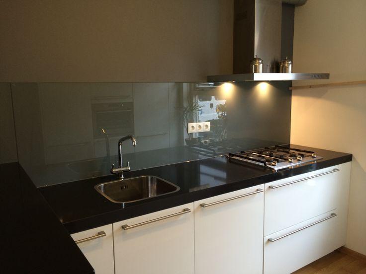 18 best images about dullcon onze projecten glazen deuren douchedeuren glazen wanden - Afscheiding glas keuken woonkamer ...