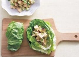Curried Chicken and Apple Lettuce Wraps | Recipes | Best Eats | Best Health