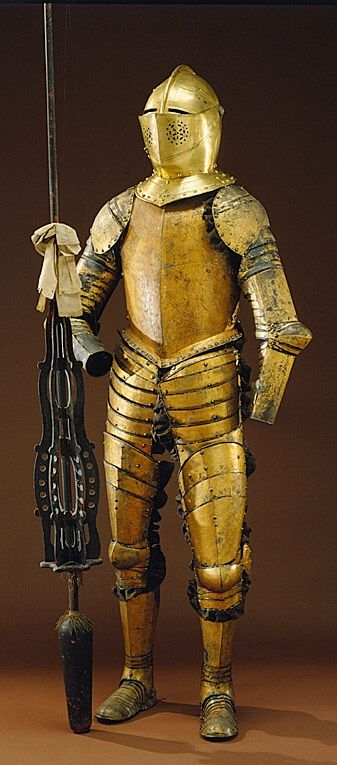 Armour, 17th century. Livrustkammaren, CC BY-SA