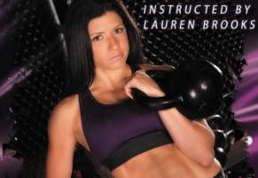 Lauren Brooks has upped her game with another great kettlebell workout DVD.