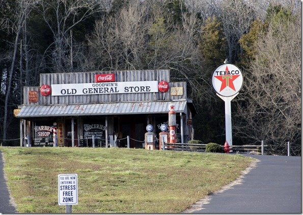 old Tenessee country store in the Smokies~lots of funny souvenirs!