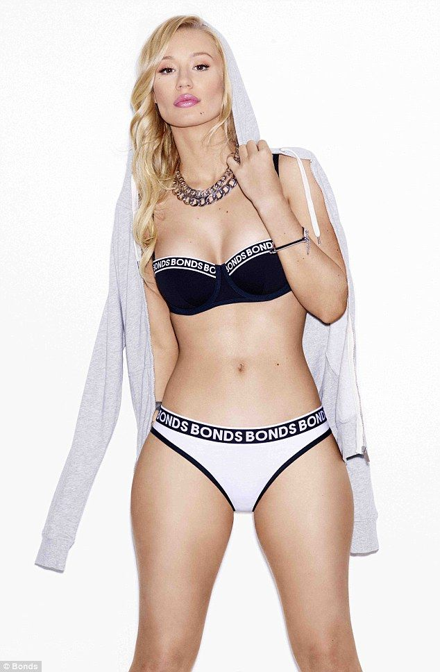 Iggy Azalea has certainly proved she has one truly enviable figure, posing for Bonds' latest campaign