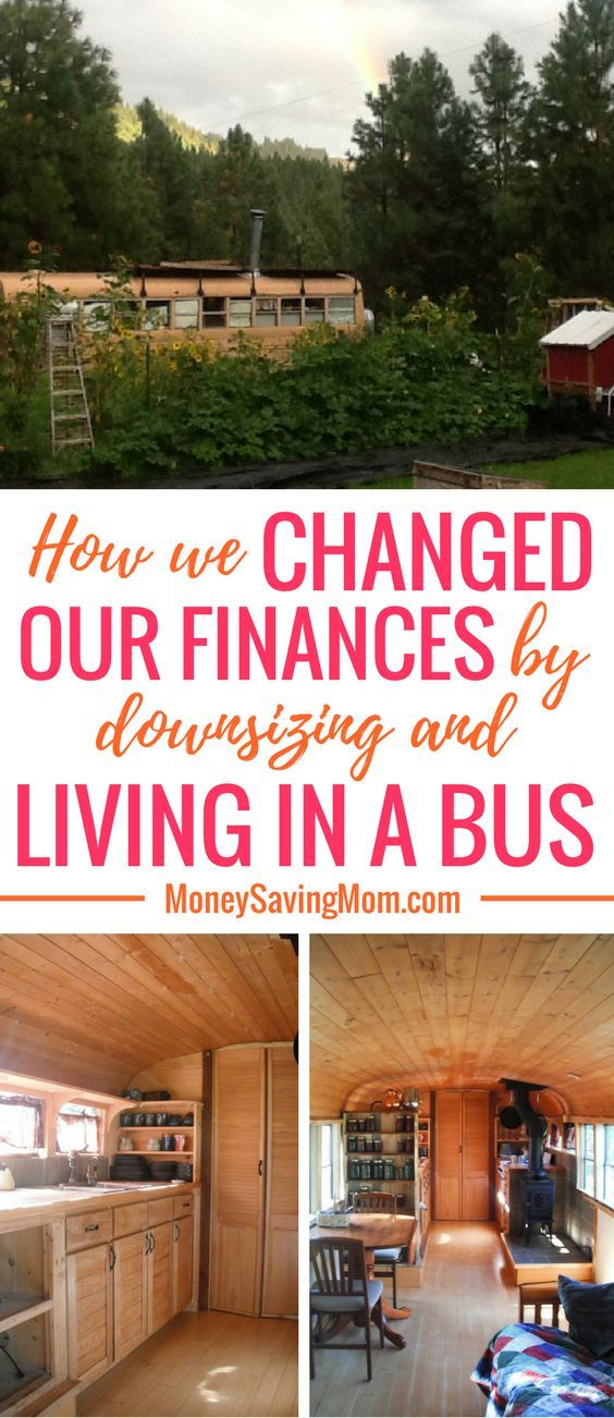 Tiny home idea on a budget: convert a school bus into a house!! This family's story is SO inspirational!
