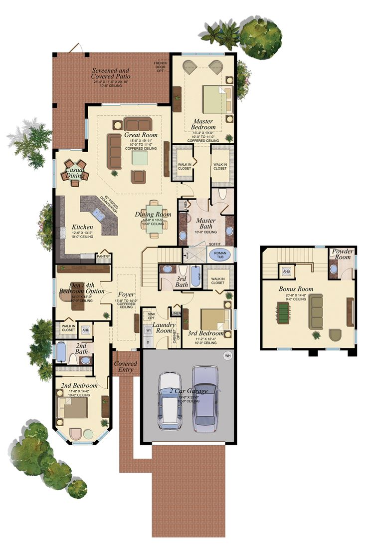 82 Best Florida Homes Favorite Floorplans Images On Pinterest Architecture Interior Design