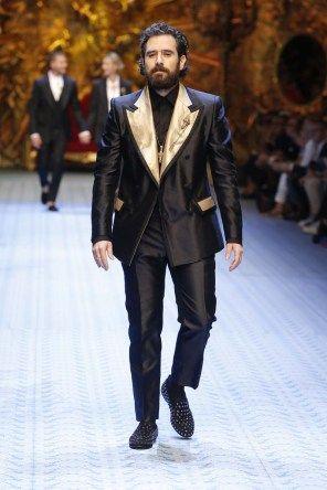 a635a2e6c4d67 Défilé Dolce   Gabbana Menswear Printemps Été 2019
