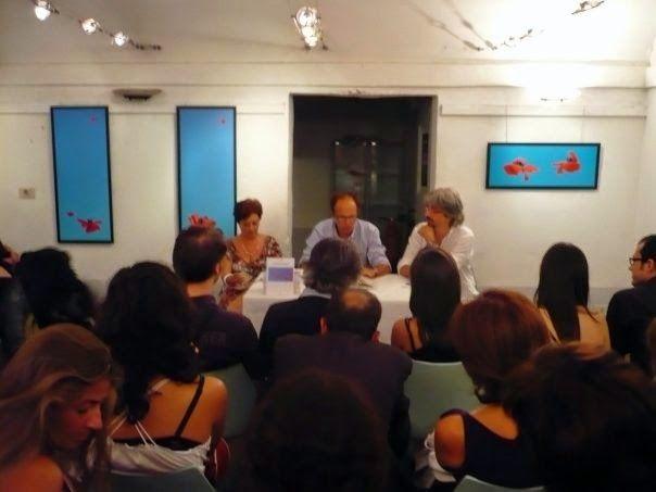Una presentazione, cinque anni fa.   Il Blog di Fabrizio Falconi: La presentazione alla Torretta de 'Il respiro di o...