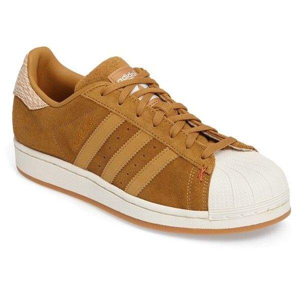 Men's Adidas Superstar Sneaker ($80) ❤ liked on Polyvore featuring men's fashion, men's shoes, men's sneakers, adidas mens shoes, men's low top shoes, mens shoes, adidas mens sneakers and men's low top sneakers