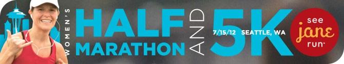 See Jane Run 1/2 Marathon - Seattle July 15 2012