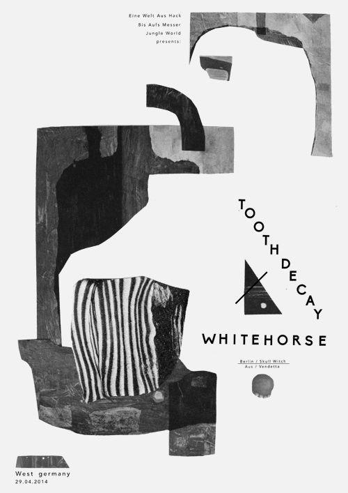 Various b/w posters - Damien Tran