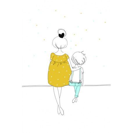 Love mom and boy
