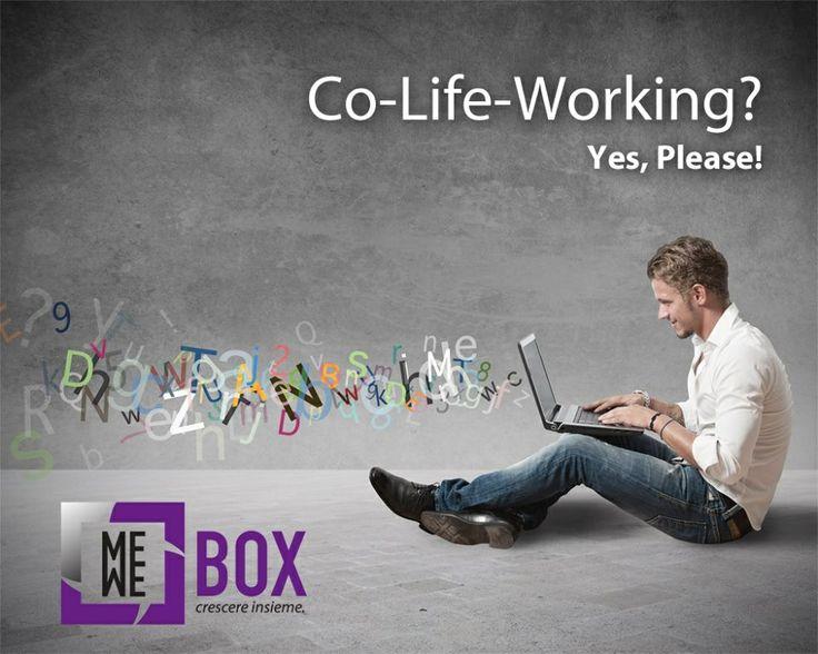 Stai cercando da sempre uno spazio dove CRESCERE INSIEME lavorando?  info@mewebox.com