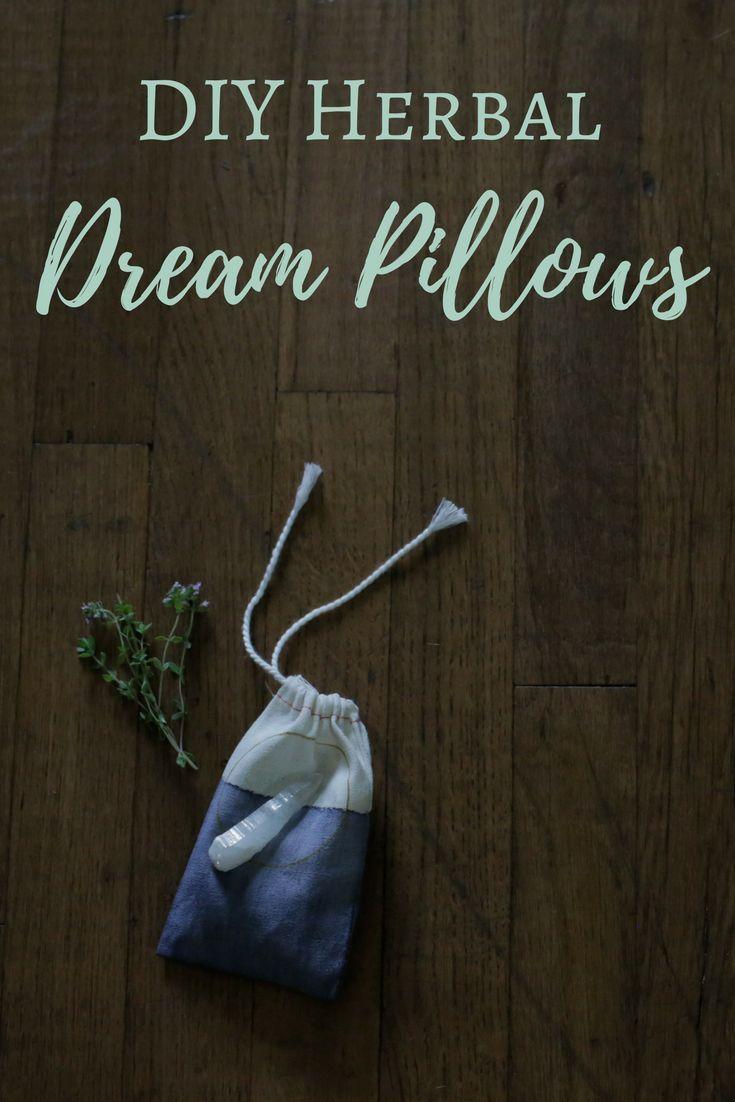 DIY Herbal Dream Pillows | wicca | Herbalism, Wiccan crafts