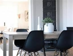 dining table black chairs - Google Search
