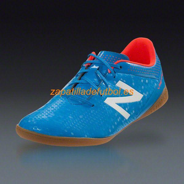 Zapatillas de futbol sala New Balance Visaro Control IN Perno Llama Blanca